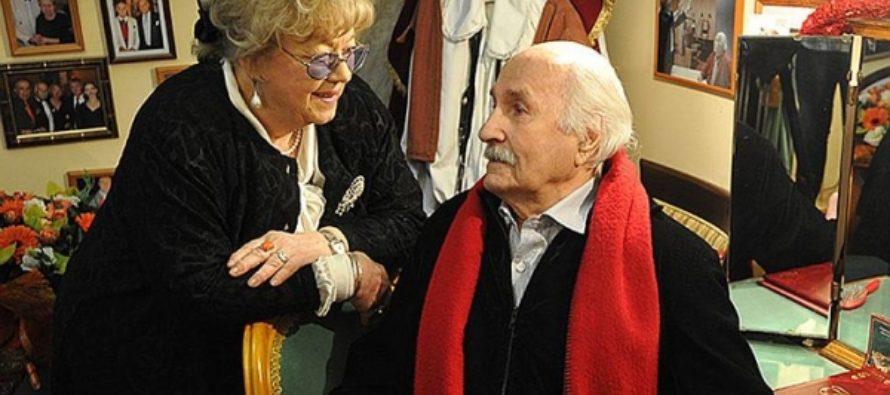 Вдова Владимира Зельдина пережила мужа всего на три месяца