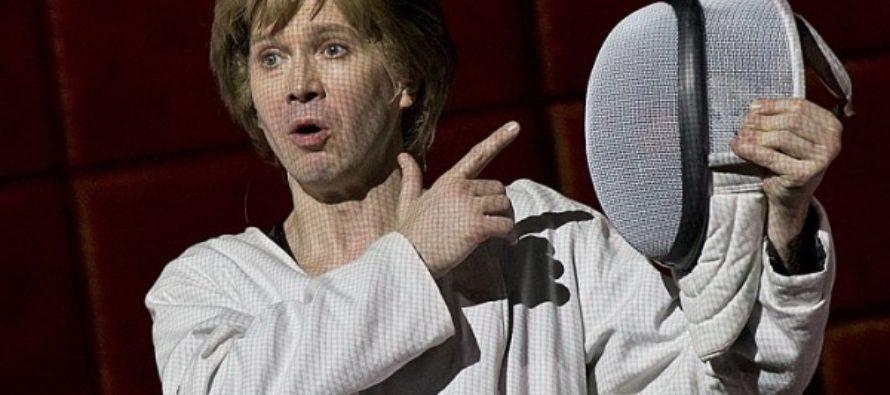 Евгений Миронов и Робер Лепаж: Гамлет, играющий в кубики