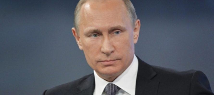 Путин получил премию мира имени Уго Чавеса