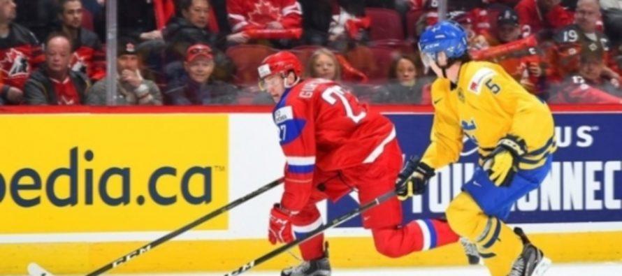 Молодежная сборная России по хоккею стала бронзовым призером ЧМ