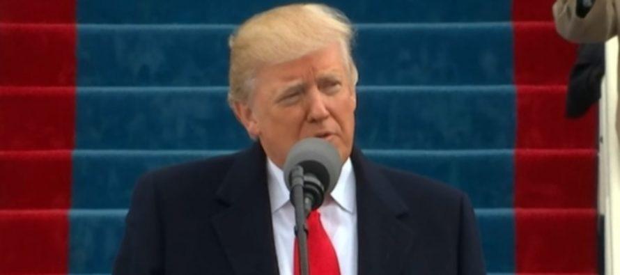 Как это было: первая речь Дональда Трампа в качестве президента США. Видео