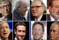 Восемь человек в мире имеют столько же, сколько половина человечества