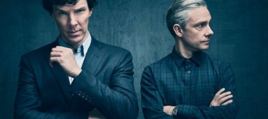 «Соскучились по мне?» Рассказываем о новом сезоне сериала «Шерлок» в гифках