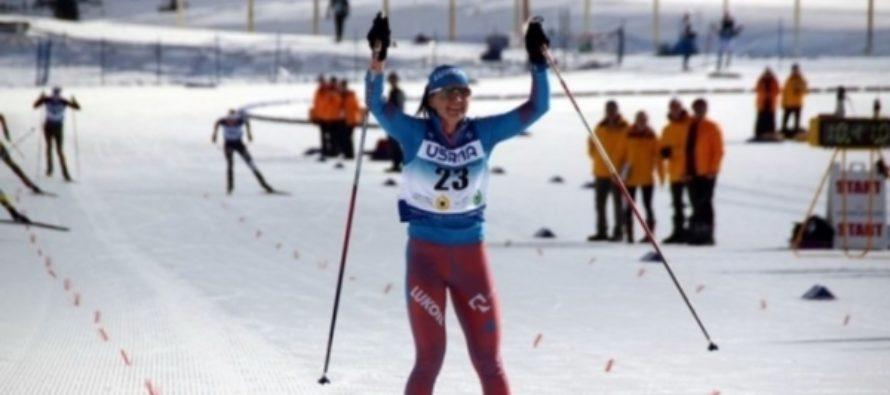 Алтайская лыжница Кирпиченко стала призером чемпионата мира среди юниоров