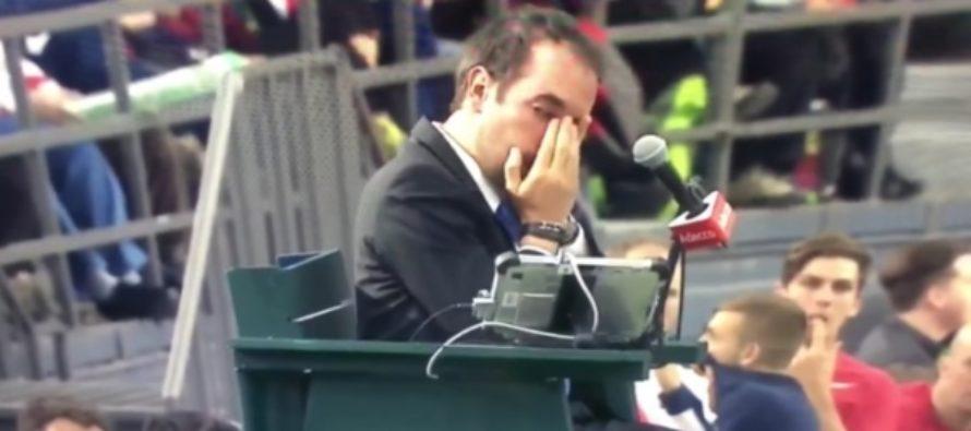Канадский теннисист Шаповалов попал арбитру мячом в глаз. Видео