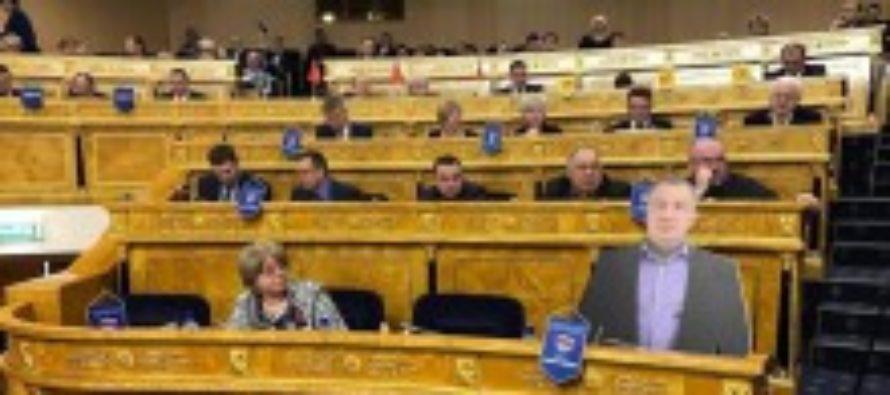 В России появился первый депутат из картона