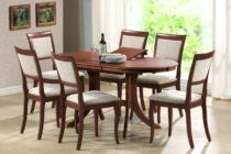 Из каких материалов делают кухонные столы и стулья?