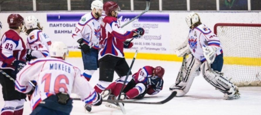 Хоккейный клуб «Алтай» не пробился в плей-офф ВХЛ и завершил сезон