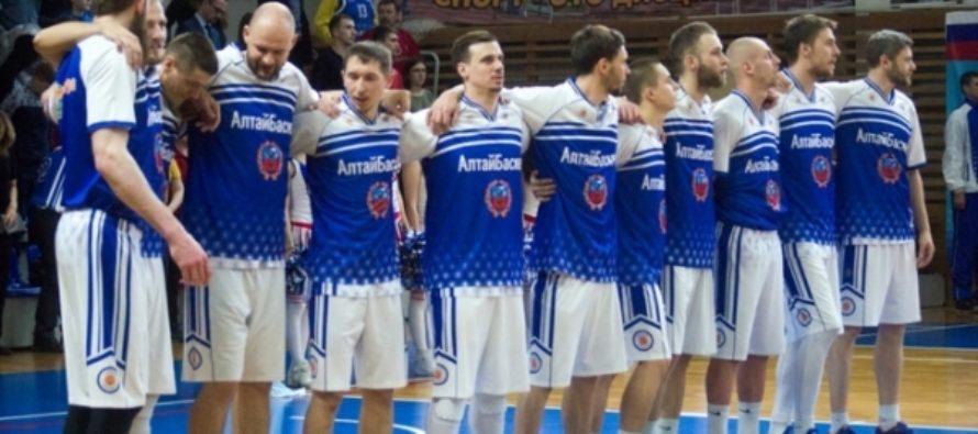 «АлтайБаскет» начал полуфинальную серию Суперлиги-3 с разгромной победы