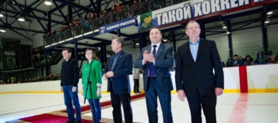 Александр Карлин после футбола решил развивать хоккей в Алтайском крае