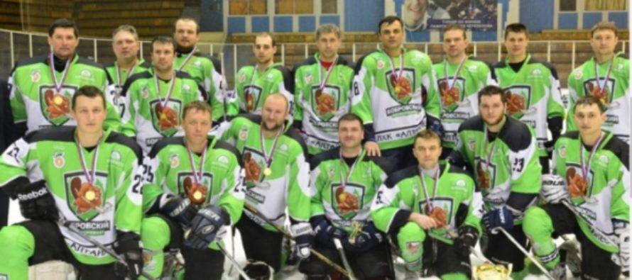 Финал Алтайского края по хоккею состоялся 8 марта