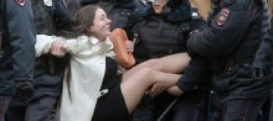 В России прошли акции протеста против коррупции