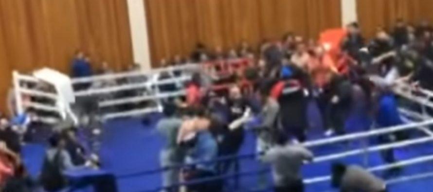Бой на чемпионате ММА в Дагестане аннулирован после драки