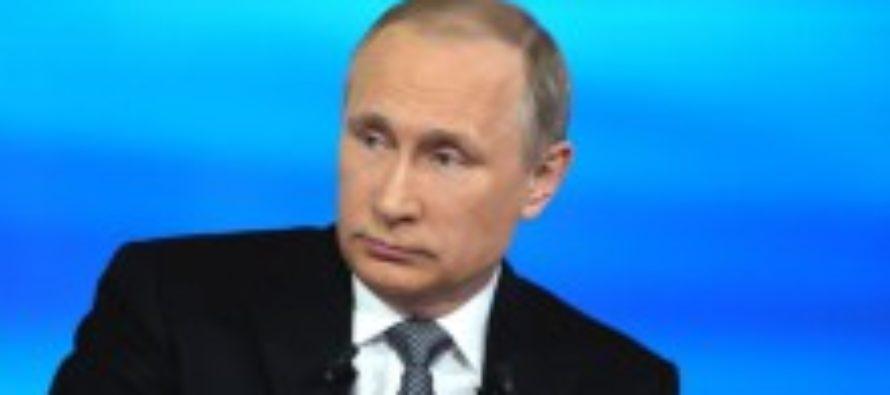 Минюст запретил Путина в макияже