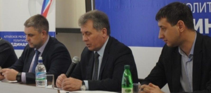 Алтайские единороссы учат будущих кандидатов ведению предвыборной кампании