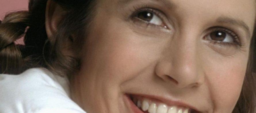 Актриса Керри Фишер появится в девятой части «Звездных войн»