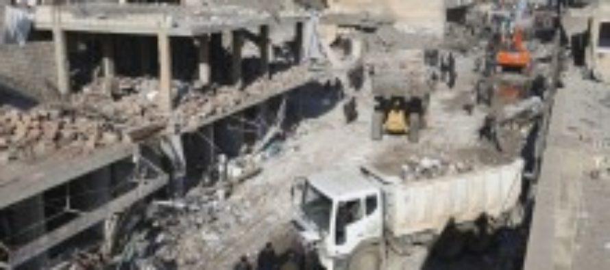 По Сирии нанесли удары возмездия