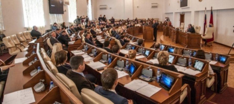 Сколько заработали первые лица Алтайского Заксобрания в 2016 году?