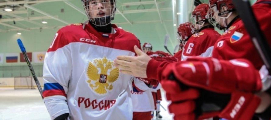 Алтайский хоккеист дважды забил за Россию на чемпионате мира среди юниоров