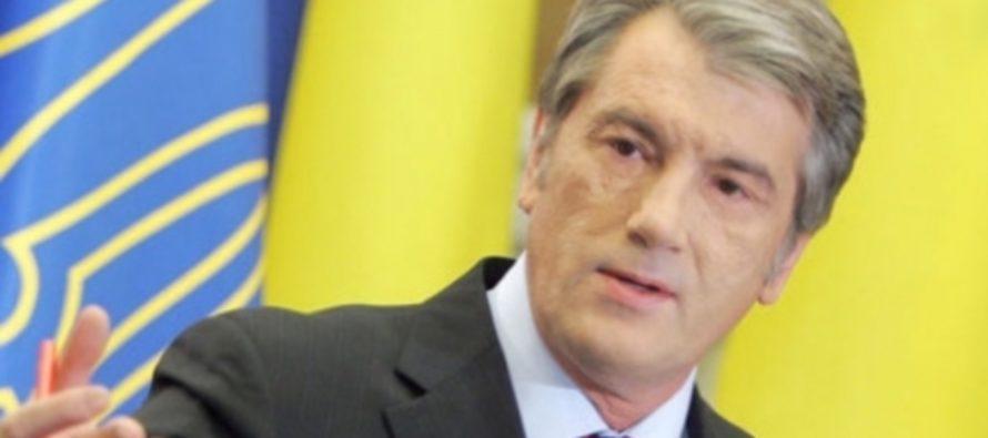 Виктор Ющенко считает, что сейчас идет 24-я война Украины с Россией