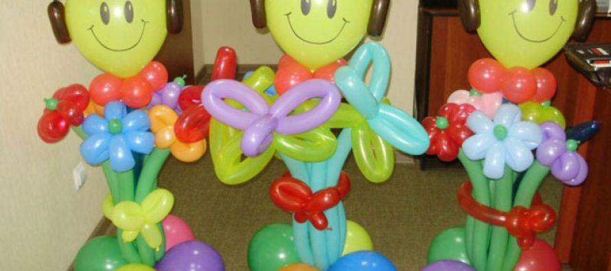 Какие фигуры из воздушных шаров можно сделать на праздник?