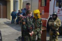 Открытый урок по безопасности жизнедеятельности для кадетов