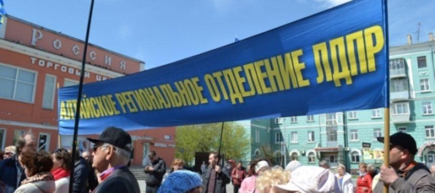 Новый лидер алтайской ЛДПР Дмитрий Ворсин рассказал о подготовке к выборам