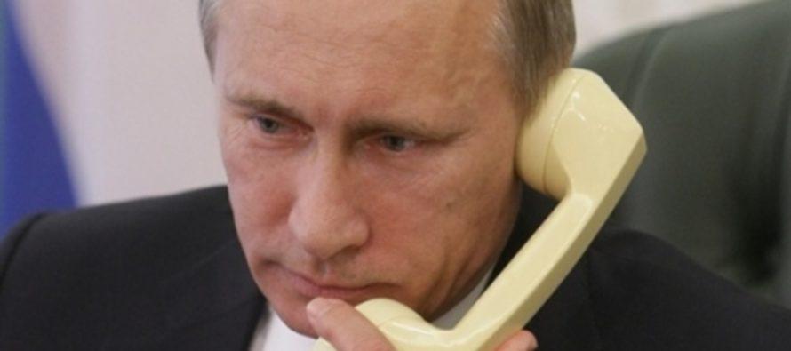 СМИ: Трамп и Путин 2 мая обсудят по телефону войну в Сирии