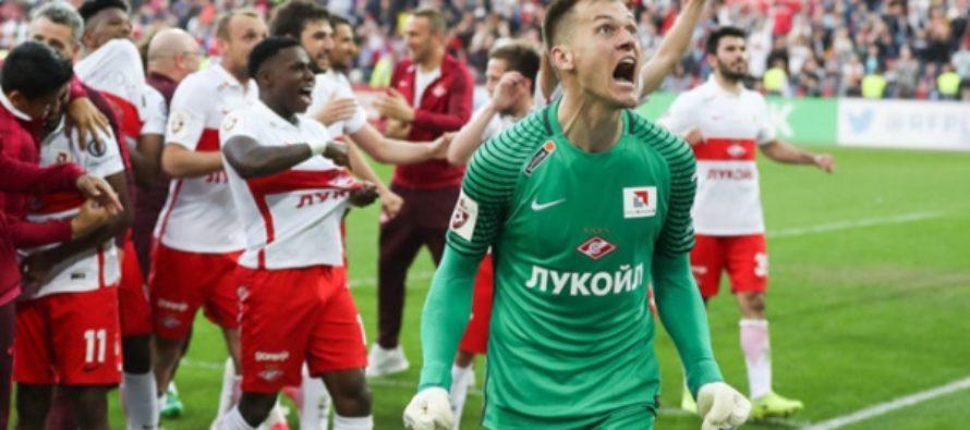 «Спартак» стал чемпионом России по футболу впервые за 16 лет