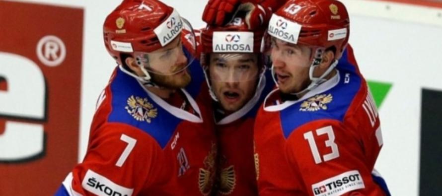 Сборная России победила шведов по буллитам в ЧМ по хоккею