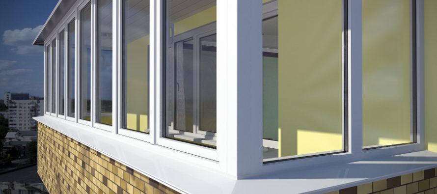 Этапы остекления и отделки балконов