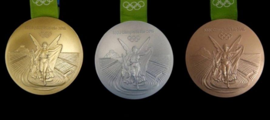 Организаторам Олимпиады в Рио вернули более 130 медалей из-за ржавчины
