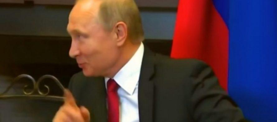 Путин пошутил над свитой Эрдогана: «Не хотят работать»