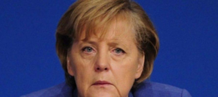 Меркель заявила, что не желает прерывать диалог с Россией