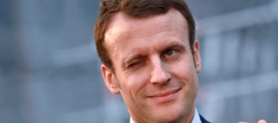 Инаугурация Эмманюэля Макрона проходит 14 мая в Париже