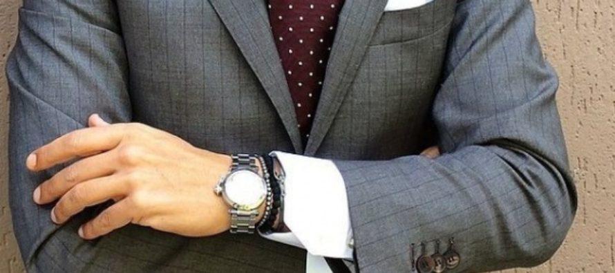 Как подобрать мужской костюм и часы к нему?