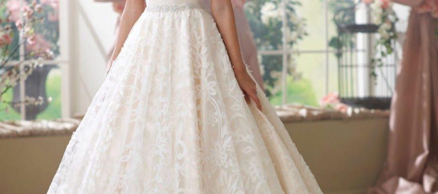 Виды свадебных и вечерних платьев