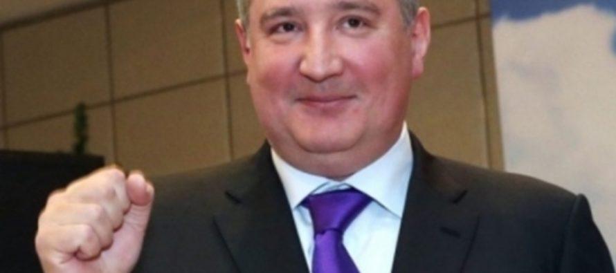 Рогозин ответил анекдотом на вопрос об отношении России к санкциям