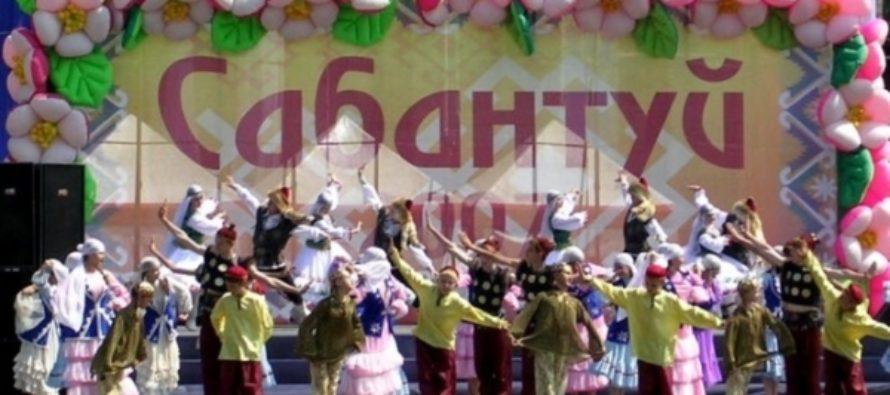 Сабантуй отпразднуют в Барнауле борьбой батыров и бегом с ведрами