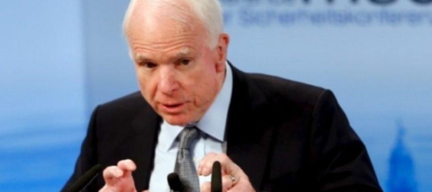 «Немножко симпатичен»: Путин рассказал о своем отношении к Маккейну