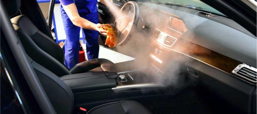 Преимущества химчистки салона автомобиля