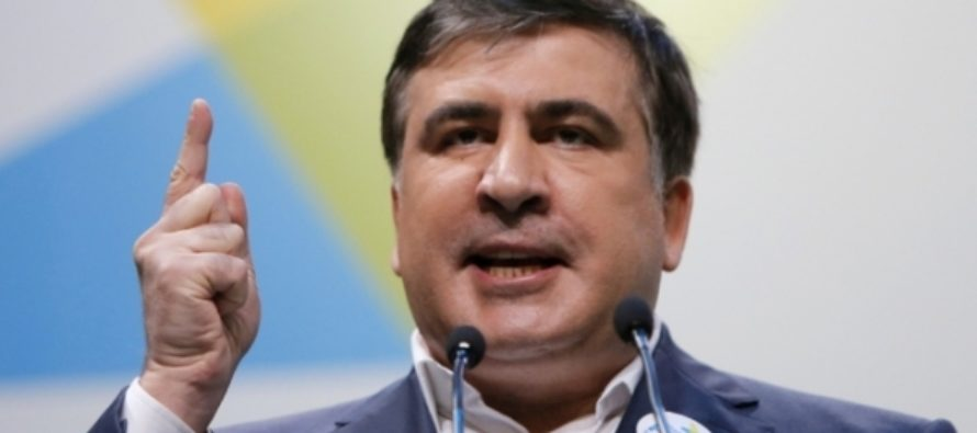Саакашвили назвал Порошенко «банальным торгашом»