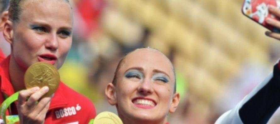 Российский дуэт синхронисток завоевал золото чемпионата мира в Будапеште