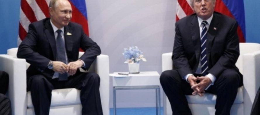 СМИ: Путин и Трамп 40 минут обсуждали «вмешательство» РФ в выборы
