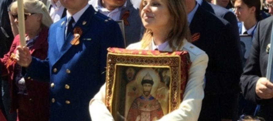 Работа депутата: Поклонская собрала 100 тысяч подписей против «Матильды»