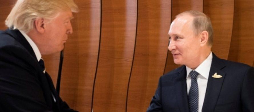 Путин и Трамп договорились создать канал связи по вопросам Украины