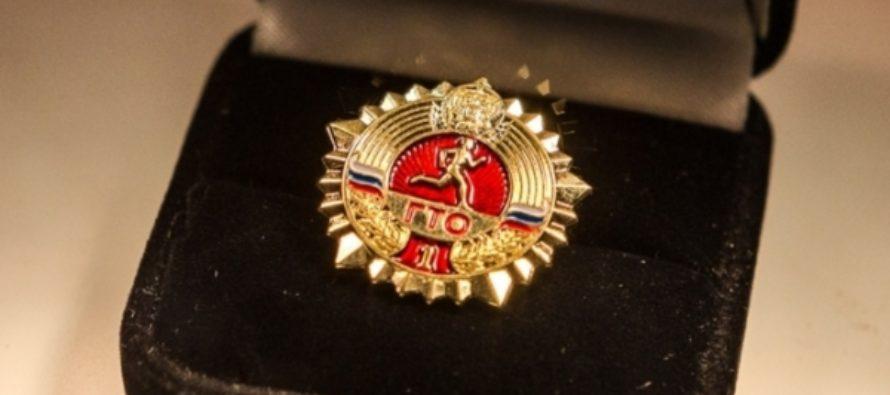 86-летняя пенсионерка в Новгородской области получила золотой значок ГТО