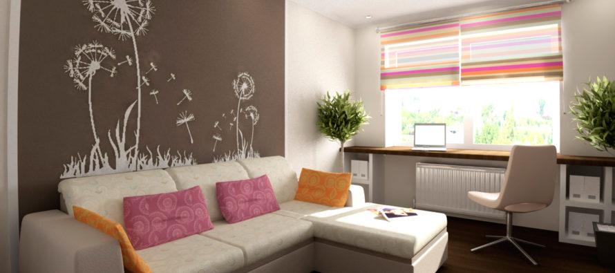 Дизайн однокомнатной квартиры 40 кв м: советы, идеи