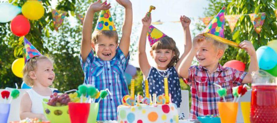 Как ребенку устроить праздник на день рождения?