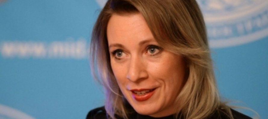 Захарова отказалась комментировать «нездоровые фантазии» Грузии